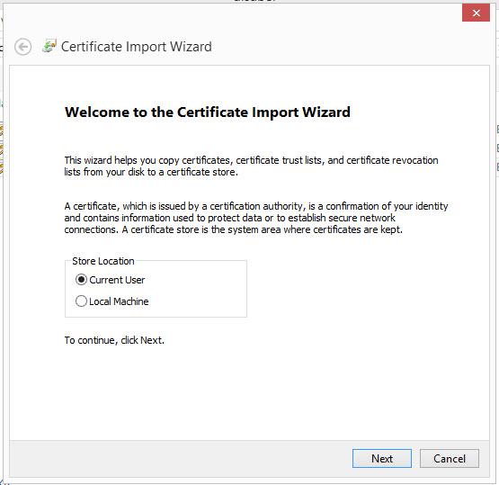 Installation d 39 un certificat dans le bureau virtuel d pannage informatique - Installer google sur le bureau ...