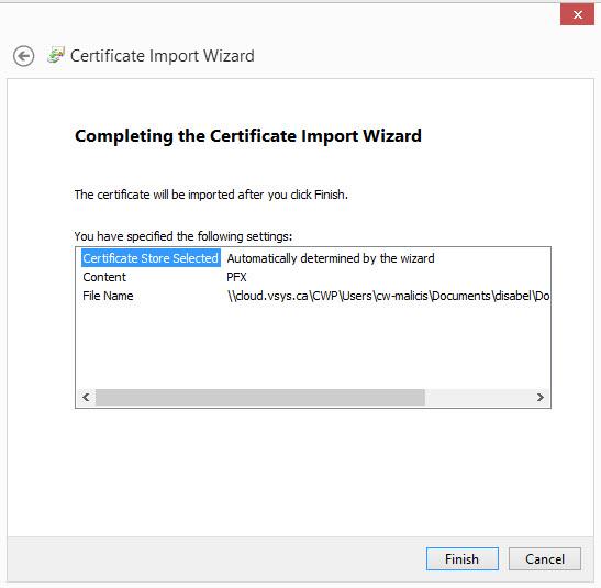 Installation d 39 un certificat dans le bureau virtuel d pannage informatique - Bureau virtuel windows 7 ...